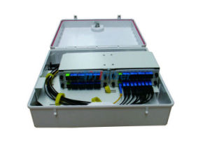 Outdoor PLC Splitter Wall Mounted Fiber Optical Distribution Box pictures & photos