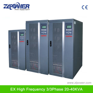 400V Input and Output 80kVA Double Conversion Industrial Online UPS pictures & photos