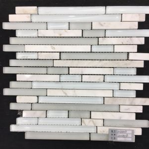 European Market Glass and Stone Mixed Tile Mosaic (M855019) pictures & photos