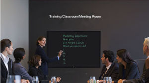 57inch LCD Writing Blackboard, One Press Erasing for Training, Classroom and Meeting Room pictures & photos