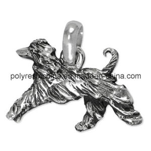 Engraved Silver Color of Pewter Dog Afghan Hound Charm pictures & photos