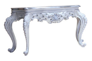 Silver Foil Hotel Table Hotel Furniture pictures & photos
