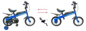 2 in 1 Kids Bike Pedaless Bike Balance Bicycle pictures & photos
