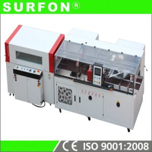 High Speed Continuous Motion Auto Electronic Arts Strike Boxes with Film Wrapping Machine pictures & photos