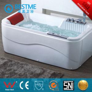 Rectangle Shape Massage Bathtub with Pillow (BT-A608) pictures & photos