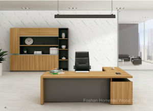 Modern Executive Office Desk/ Chinese Modern Office Furniture (HF-FD1613) pictures & photos