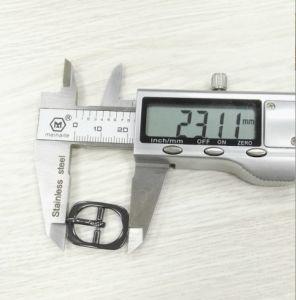 Handbag Accessories Nickel Pin Iron Belt Ring Buckle pictures & photos