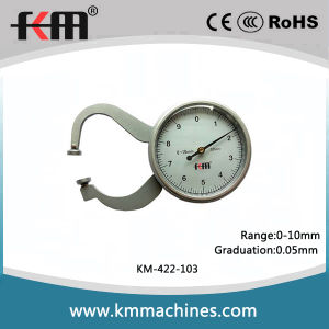 0-10mm Dial Thickness Caliper Quality Measuring Tools pictures & photos