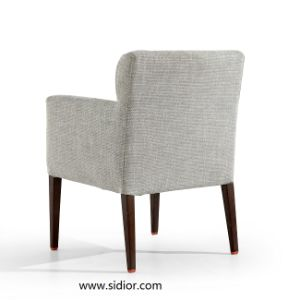(SD-1011A) Modern Furniture Hotel Wooden Restaurant Dining Chair with Arm pictures & photos