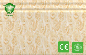 Fashion 300X9mm Waterproof WPC Decoration Wall Cladding for Interior Decoration