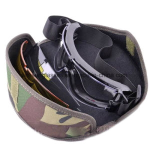 Tactical Military Eyewear Dustproof Army Safety Goggles Shotting Ballistic Goggles pictures & photos