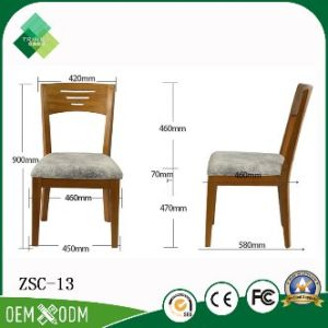 European Classic Style Beech Hotel Chair for Sitting Room (ZSC-13) pictures & photos