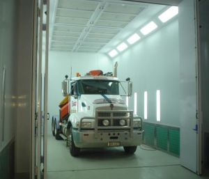 Jf Professional Large Paint Booth for Truck/Bus pictures & photos