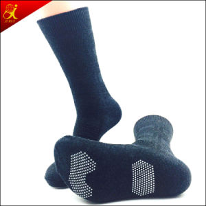 Cheap Man Rubber Sole Anti Slip Sock pictures & photos
