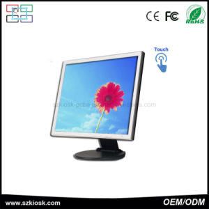 19 Inch LCD Display Resistive Touch Screen Monitor pictures & photos