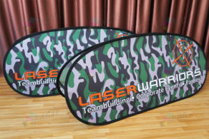 Dye Sublimation printing polyester Horizontal  A-Frame Display banner pictures & photos