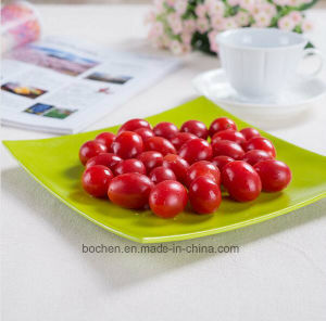 BPA Free Eco Bamboo Fiber Serving Tray (BC-GT141) pictures & photos