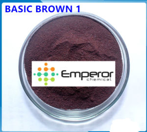 Basic Brown 1 Basic Brown Dye for Paper and Leather pictures & photos
