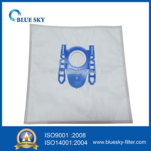Vacuum Cleaner Nonwoven Bag with Plasitc Collar for Siemens Vs06b112A pictures & photos