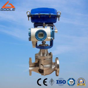 Hcn Low Noise Cage Type Pneumatic Regulating Valve pictures & photos