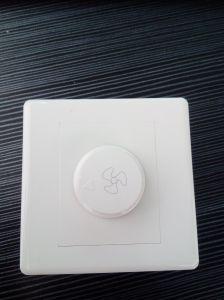 British Standard White Fan Regulator / Light Dimmer Switch 500W/1000W pictures & photos