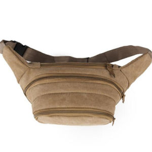 Men′s Canvas Diagonal Outdoor Crossbody Chest Pack Running Waist Bag (GB#503) pictures & photos