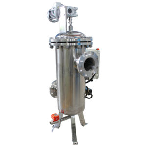 Automatic Self Cleaning Water Filter with Suction and Brush pictures & photos