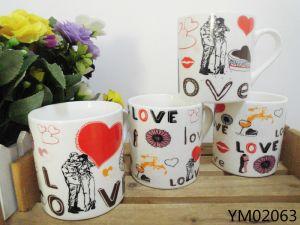 Ceramic Milk Mug with Big Hand pictures & photos