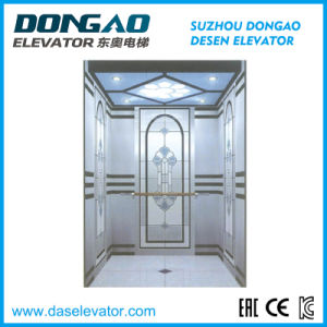 High Security and High Comfort Design Concept for Small Machine Room Passenger Home Elevator pictures & photos