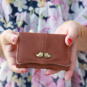 Korean Style Wallet Cartoon Birds Vintage Girls Coin Purse