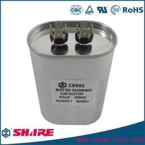 Cbb65 AC Motor Run Capacitor for Air Conditioner Compressor pictures & photos