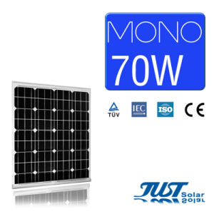70W Mono Solar Panels with High Efficiency and Top Quality