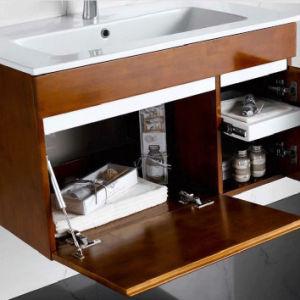 Sanitary Ware Modern Style Oak Wood Bathroom Vanity pictures & photos