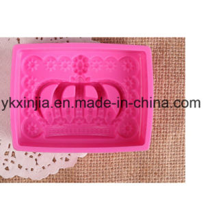 High Temperature Resistant Silicone Cake Mould pictures & photos