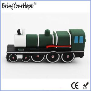 3D PVC Design Train Shape USB Flash Drive (XH-USB-155) pictures & photos