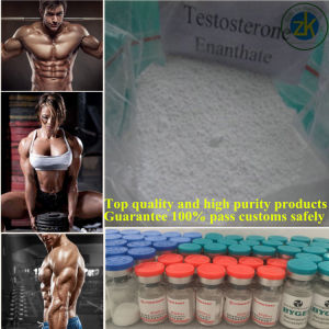 Factory Direct Sales 99.5% Purity Testosterone Enanthate Steroid Building Material pictures & photos