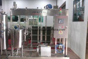 Semi Automatic 1000L/H Fresh Milk Pasteurizer pictures & photos
