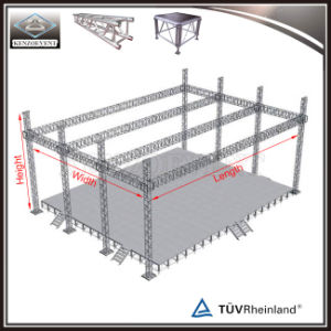 Heavy Duty Flat Roof Truss System Lighting Stage Truss For Show
