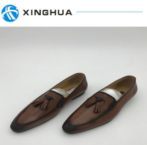 Men′s Dress Shoes Used by Leather pictures & photos