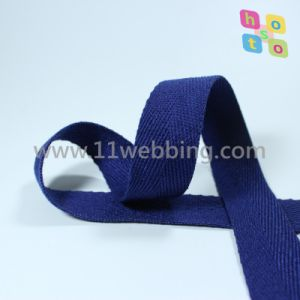 More Colors Herringbone Cotton Webbing Cotton Binding Tape pictures & photos
