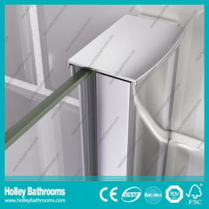 Hinged Square Shower House with Tempered Glass (SE916C) pictures & photos