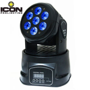 RGBWA+UV 6PCS 15W Moving Head Light for Church pictures & photos