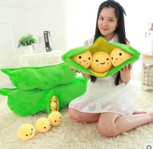 Custom Wholesale Stuffed Cushion Kids Bean Shape Emoji Pillows pictures & photos