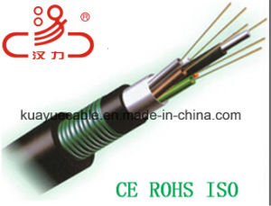 Central Loose Tube GYTY53 Fiber Optic Cable/Computer Cable/Data Cable/Communication Cable/Audio Cable/Connector pictures & photos