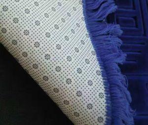 60X100cm New Design Thick Raschel Prayer Carpet Rug pictures & photos