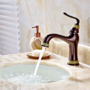 Bathroom Vessel Sinks Luxury Brass Tap Faucets pictures & photos