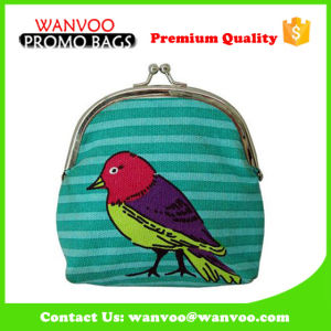 Retro Elegant Canvas Evening Wallet Party Cosmetic Bag Shopping Coin Purse pictures & photos
