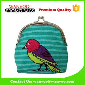 Retro Elegant Canvas Evening Wallet Party Cosmetic Bag Shopping Coin Purse pictures & photos