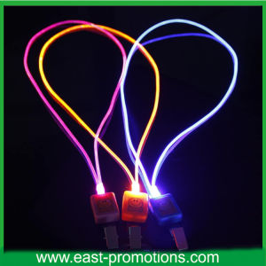 LED Light-Emitting Neck Lanyard for ID Card pictures & photos