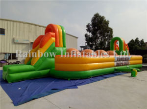 Obstacle Course Inflatable Big Baller Game Pumpkin Wipeout pictures & photos